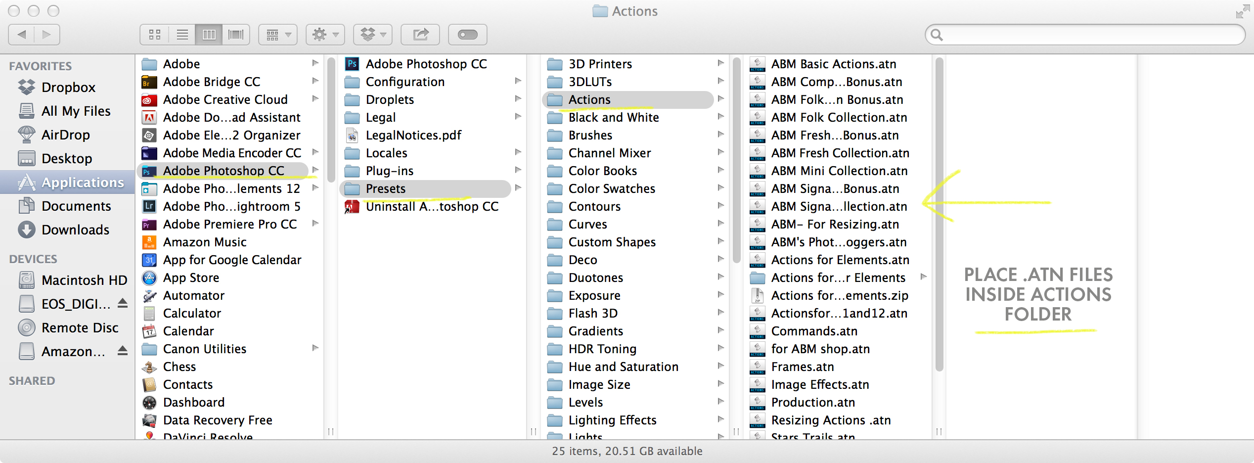 installing actions - A Beautiful Mess CoursesA Beautiful Mess Courses